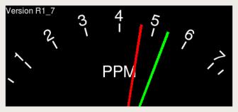 PPM Meter Copyright free