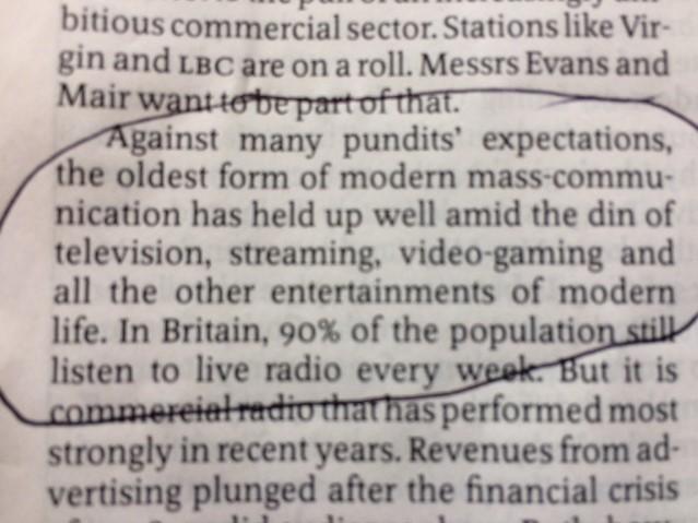 Economist quote